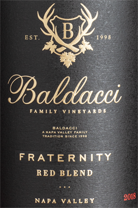 2018 Fraternity Red Wine Blend
